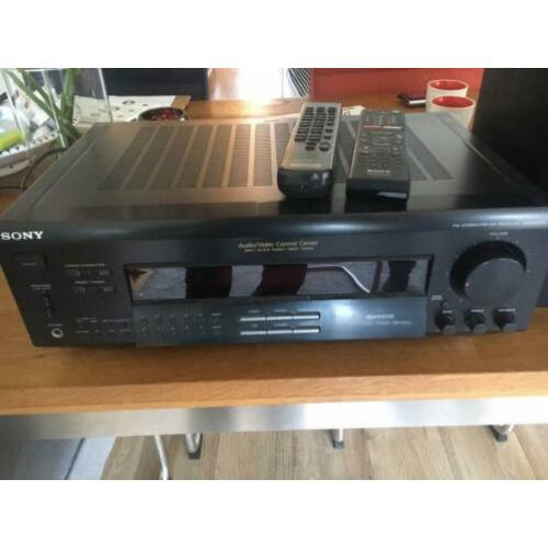 Sony receiver Incl boxen .