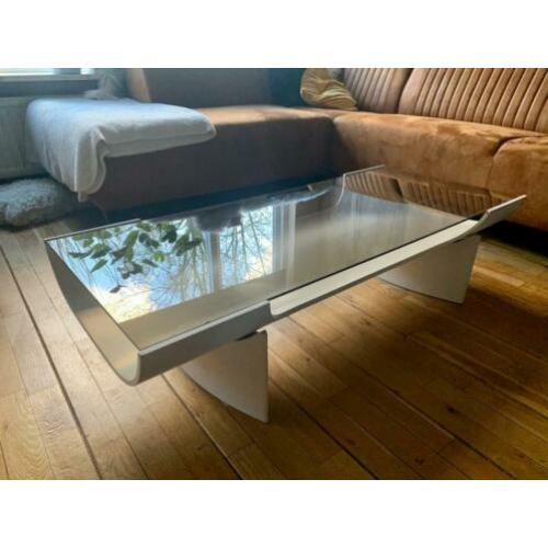 Space age coffee table plywood