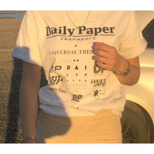 Daily paper T-shirt wit / maat S
