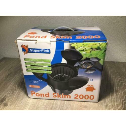 Super Fish Pond Skim 2000 skimmer