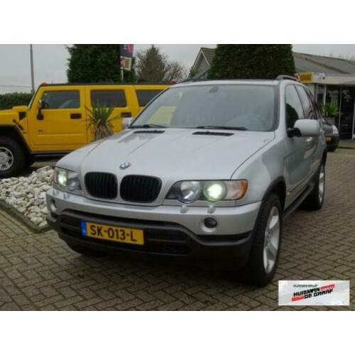 BMW X5 3.0i Youngtimer Xenon Apple Carplay Sportstoelen BTW