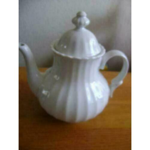 witte bavaria theepot hoogte 20 cm